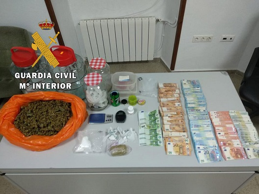 Desarticulado un punto de venta de droga en Arjona.