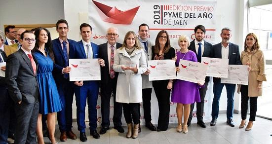 El próximo jueves concluye el plazo de inscripción al Premio Pyme del Año 2020 de Jaén.