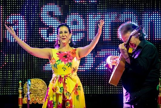 La cantaora gaditana Laura Vital actuará el próximo 31 de Octubre en el Teatro Municipal de Villanueva de la Reina.