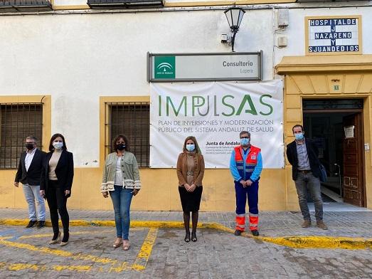 La Consejería de Salud invierte 345.000 euros en la reforma y ampliación del centro de salud de Lopera.