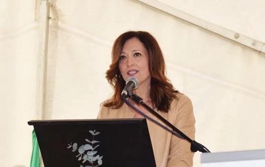 """Maribel Lozano refrenda el """"compromiso firme"""" de la Junta de Andalucía con la ITI de Jaén."""