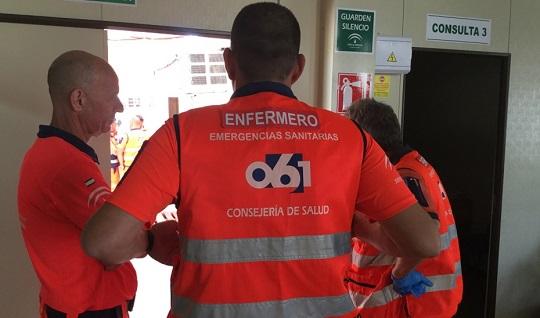 Muere un motorista al chocar contra un coche en Martos (Jaén).