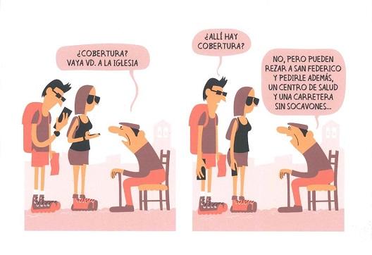 El lorquino Pedro Meca se lleva el VII Concurso de Humor Gráfico Lorenzo Goñi, dedicado este año a la despoblación.