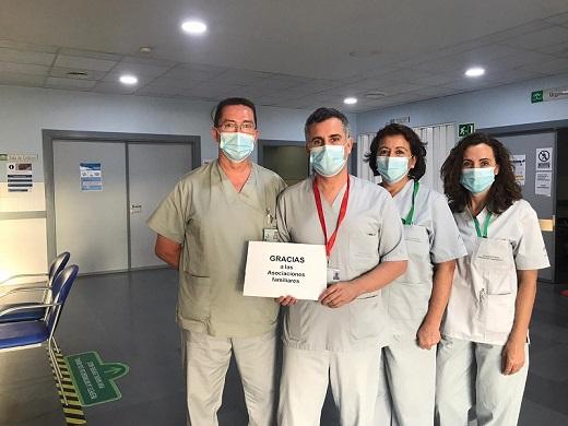 La Agencia Sanitaria Alto Guadalquivir agradece a más de 150 entidades sus colaboraciones y donaciones realizadas durante la pandemia.