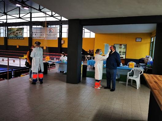 Salud cita esta semana a 1.300 vecinos de cuatro municipios para cribados con test.