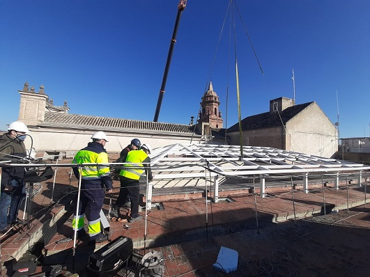 El Ayuntamiento de Andújar prosigue con el proyecto de la Oficina de Turismo gracias a la ayuda recibida a través de la Unión Europea.