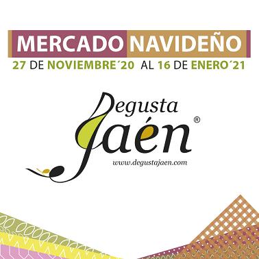 """Diputación destaca la buena acogida del primer mercado navideño on line """"Degusta Jaén""""."""