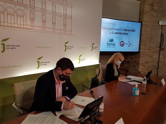 FAMSI y UGT Andalucía aúnan esfuerzos para realizar acciones de justicia social y cooperación al desarrollo.