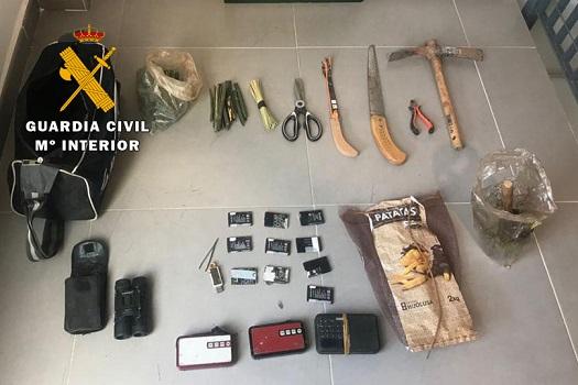 La Guardia Civil está investigando a una persona como presunta autora de un Delito Contra la Fauna.