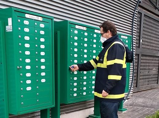 Correos colabora con distintos ayuntamientos de Andalucía para la ampliación de zonas de reparto.