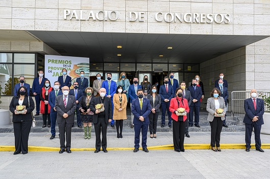 Reyes destaca que los distinguidos con los Premios de la Provincia reflejan los mejores valores de la sociedad jiennense.