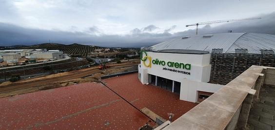 Las obras del Olivo Arena obligarán a cortar el tráfico el martes en el enlace de Jaén Sur de la N-323 en dirección a la A-44.