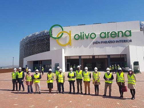 El Palacio de Deportes Olivo Arena supera el 98% de su ejecución, a escasos días de concluir las obras.