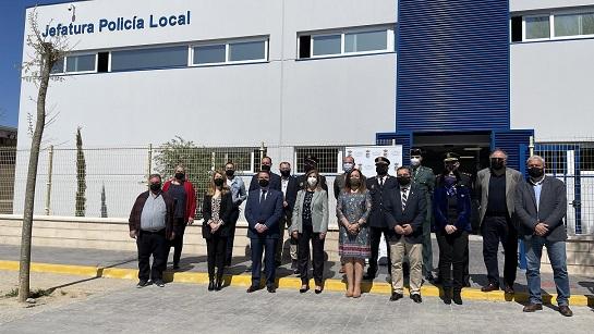 La Policía Local de Andújar inaugura nuevas instalaciones totalmente equipadas para el desarrollo de su labor diaria.