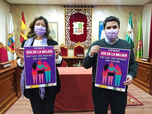 El Ayuntamiento de Marmolejo presenta un programa de actividades virtuales para celebrar el Día de las Mujeres.