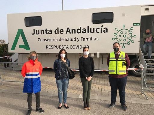 Jaén comienza a administrar la vacuna de AstraZeneca a la población general de entre 65 y 55 años.