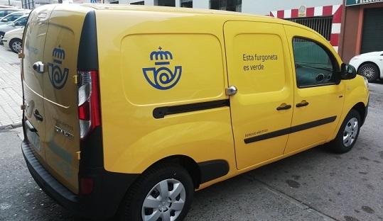 Correos dispone de 238 vehículos eléctricos en su flota de Andalucía.