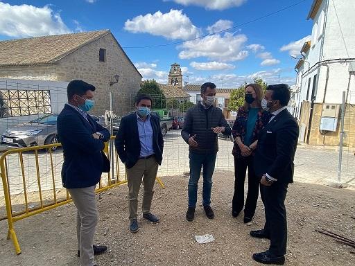 La Junta aporta más de 91.500 euros para convertir la iglesia de Santa Ana de Porcuna en centro de recepción de la Obulco romana.