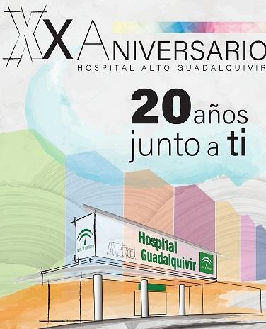 El Hospital Alto Guadalquivir dona a asociaciones y ONG's lo recaudado en sus actos celebrados en el XX Aniversario.