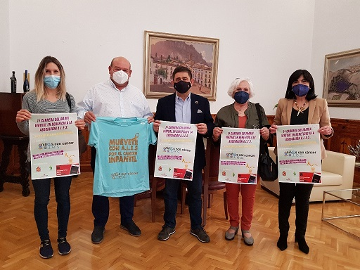 El presidente de la Diputación anima a participar en la 1ª Carrera Solidaria Virtual en beneficio de A.L.E.S.