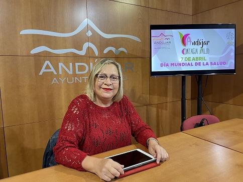 El Ayuntamiento de Andújar se suma a la conmemoración del Día Mundial de la Salud.