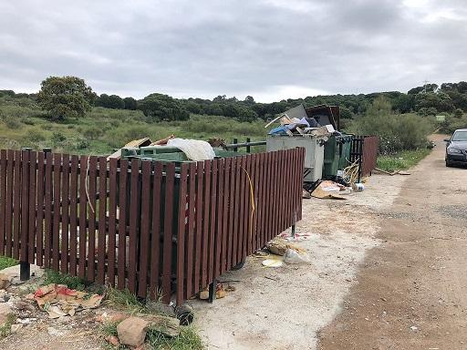 El área de Medio Ambiente de Andújar actúa en diferentes puntos conflictivos de vertidos.