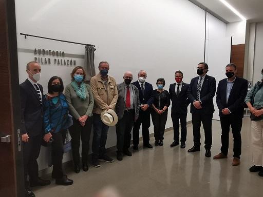 La Junta rinde homenaje a Pilar Palazón dando su nombre al auditorio del Museo Íbero.