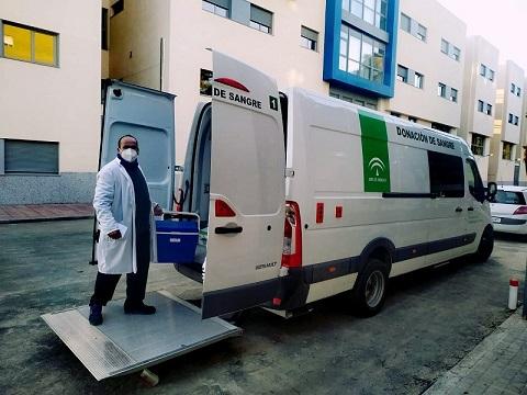 El Centro de Transfusión de Jaén realizará 40 colectas en el mes de abril.