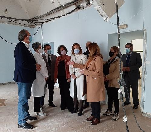 Salud y Familias invierte 1,2 millones de euros en el Antiguo Hospital de Andújar.