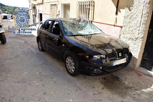 La Policía Nacional detiene en Jaén a cuatro personas que participaron en un tiroteo.