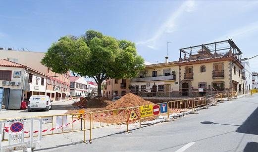 La Junta regenerará 46 hectáreas de plazas y calles de cerca de 60 municipios de Andalucía.