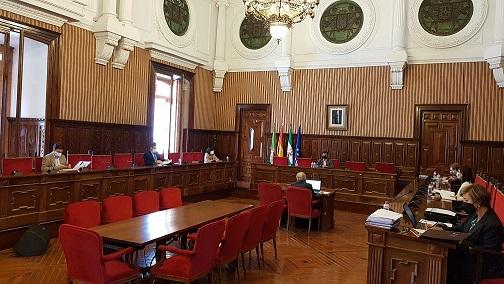 El pleno de la Diputación aprueba el reglamento de uso, utilización de instalaciones y precios del Olivo Arena.