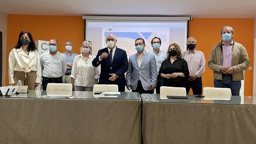 El Ayuntamiento de Andújar presenta el proyecto de Regeneración y Humanización del Ecosistema Natural y Cultural del Eje Parque Colón-Ribera del Guadalquivir.