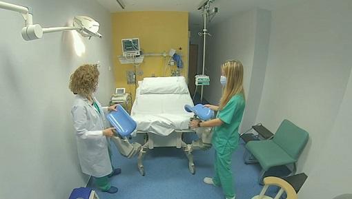 Los hospitales de Andújar y Montilla muestran en vídeo sus instalaciones para preparar a las embarazadas en el día del parto.