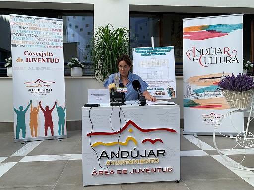 """Las áreas de Juventud y Cultura impulsan la primera edición del concurso de mural/graffiti """"Ciudad de Andújar""""."""