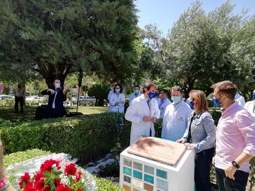 La Junta rinde homenaje a los donantes de órganos y tejidos del pasado año en Jaén.