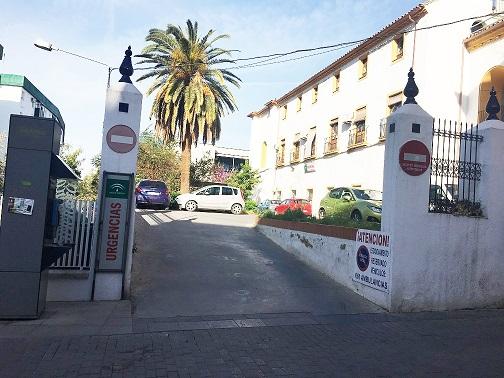 Sobre la situación de las obras desarrolladas por Salud y Familias en el Antiguo Hospital de Andújar.