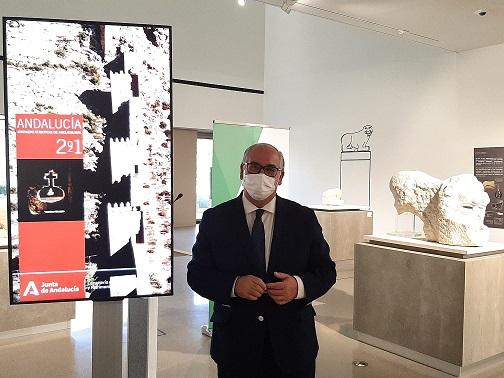 La consejería de Cultura difunde el patrimonio de Jaén en las Jornadas Europeas de Arqueología.