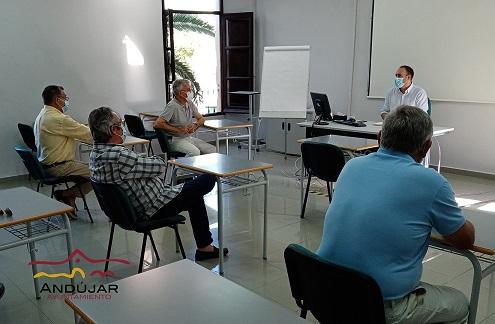 """Reunión de trabajo para """"potenciar"""" la celebración de ANDUCAB 2021."""