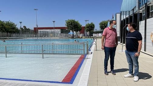 El Ayuntamiento de Andújar reabre la piscina municipal cumpliendo con todas las medidas de prevención y seguridad sanitarias.