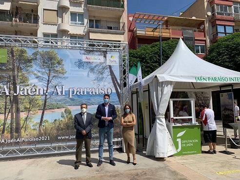 Diputación muestra al turista levantino la variada y singular oferta de Jaén, Paraíso Interior.