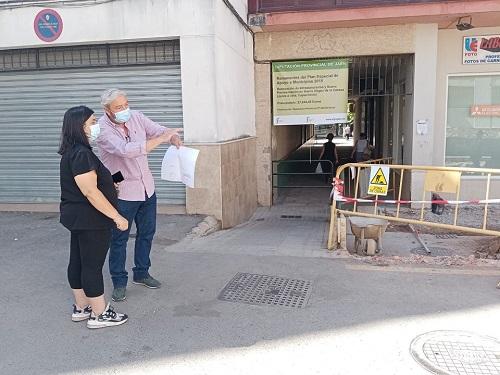 El Ayuntamiento de Andújar acomete una actuación en la Barriada de la Virgen de la Cabeza.