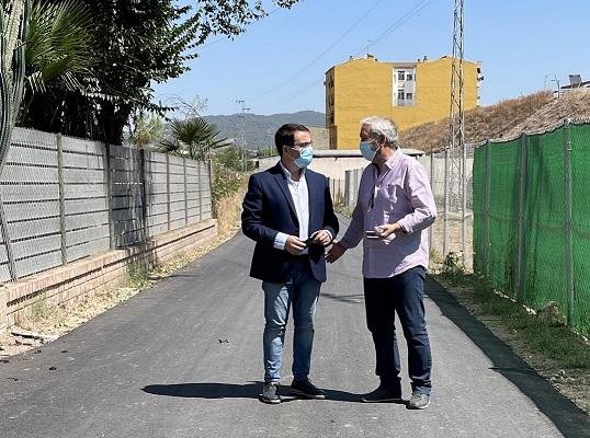 El Ayuntamiento de Andújar sigue trabajando en todas las zonas de Andújar con el asfaltado de diversas vías del municipio.