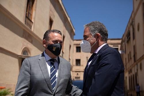 Presidencia firma un convenio con Linares para que sea sede de formación de Fuerzas de Seguridad.