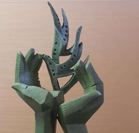 El andujareño Miguel Fuentes del Olmo realizará la escultura homenaje a los colectivos esenciales durante la pandemia.