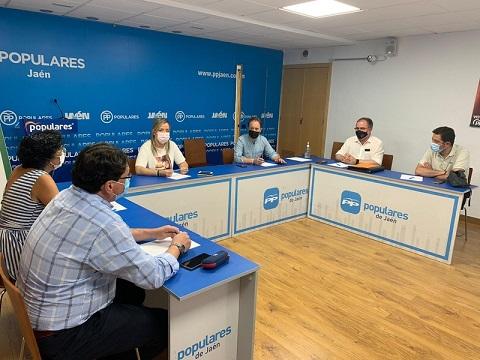El PP de Jaén inicia ronda de contactos con los Colegios Profesionales.