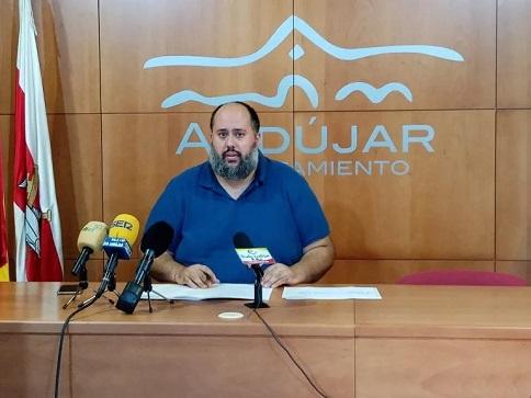 """El concejal de Vivienda de Andújar expresa su satisfacción por la """"buena acogida"""" del nuevo Plan de Rehabilitación de Espacios Comunes."""