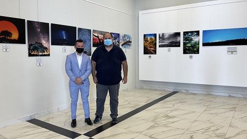 """La sala de exposiciones de Andújar acoge la muestra fotográfica de David Lara Redondo, """"Mi perspectiva de lo nuestro""""."""