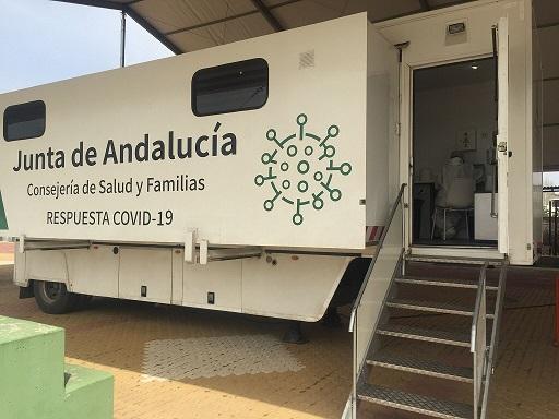 Salud y Familias realiza los cribados de esta semana en 6 municipios de Jaén.