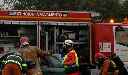 Un fallecido y un herido en un accidente de tráfico registrado en Pozo Alcón (Jaén).